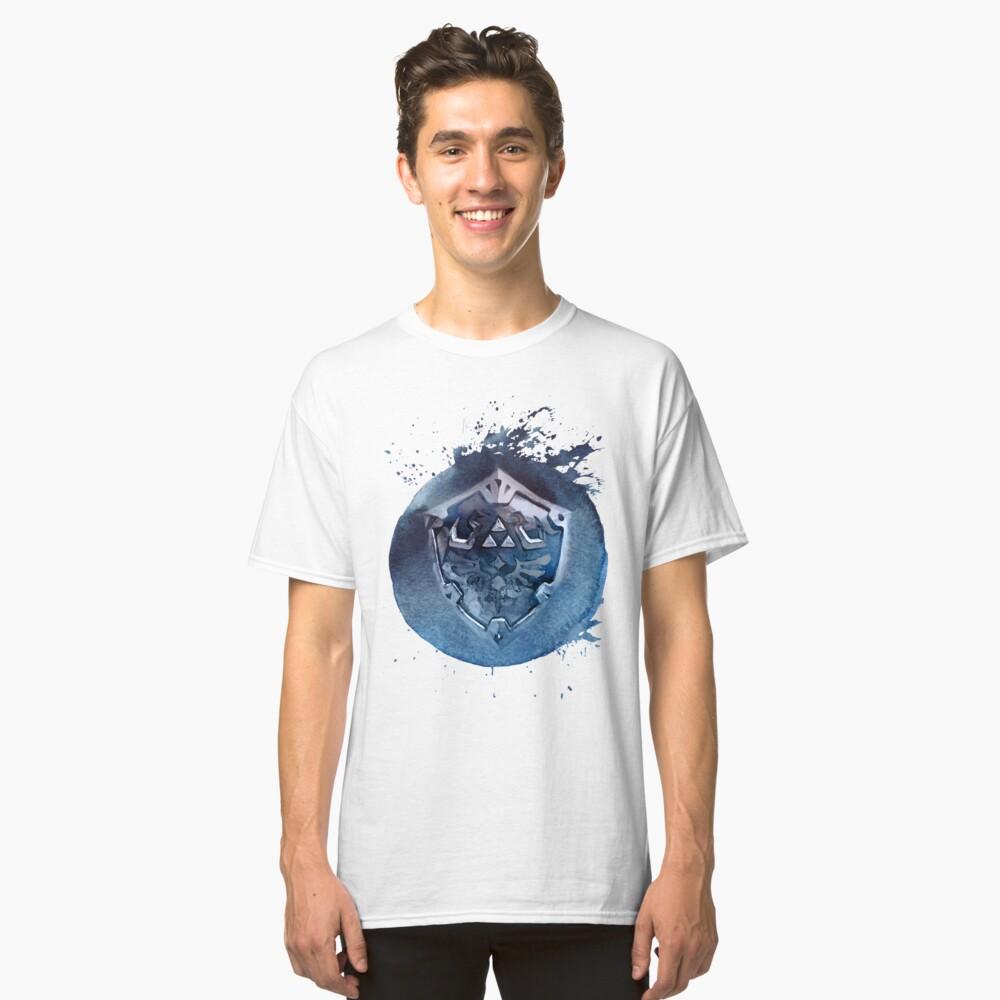 Hyrule Shield Zelda Classic T-Shirt Front