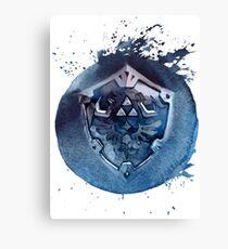 Hyrule Shield Zelda Canvas Print