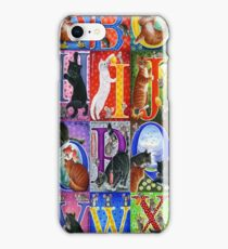 Cats Alphabet iPhone Case/Skin