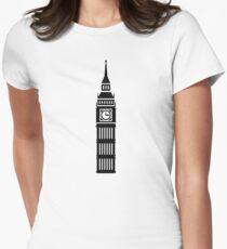 London Big Ben Women's Fitted T-Shirt