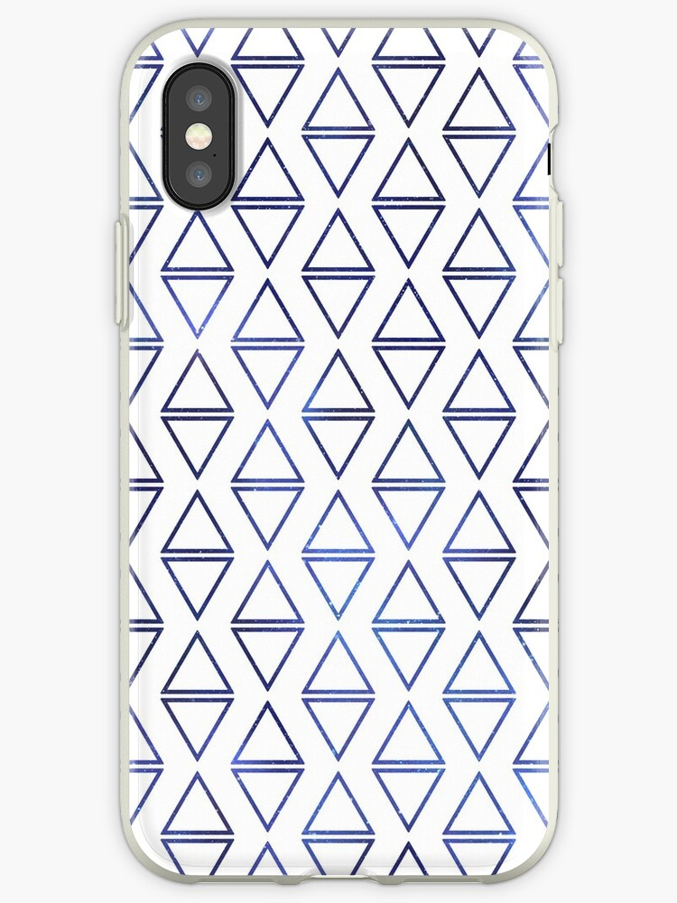 Triangle space pattern - white by LittleSmarthy
