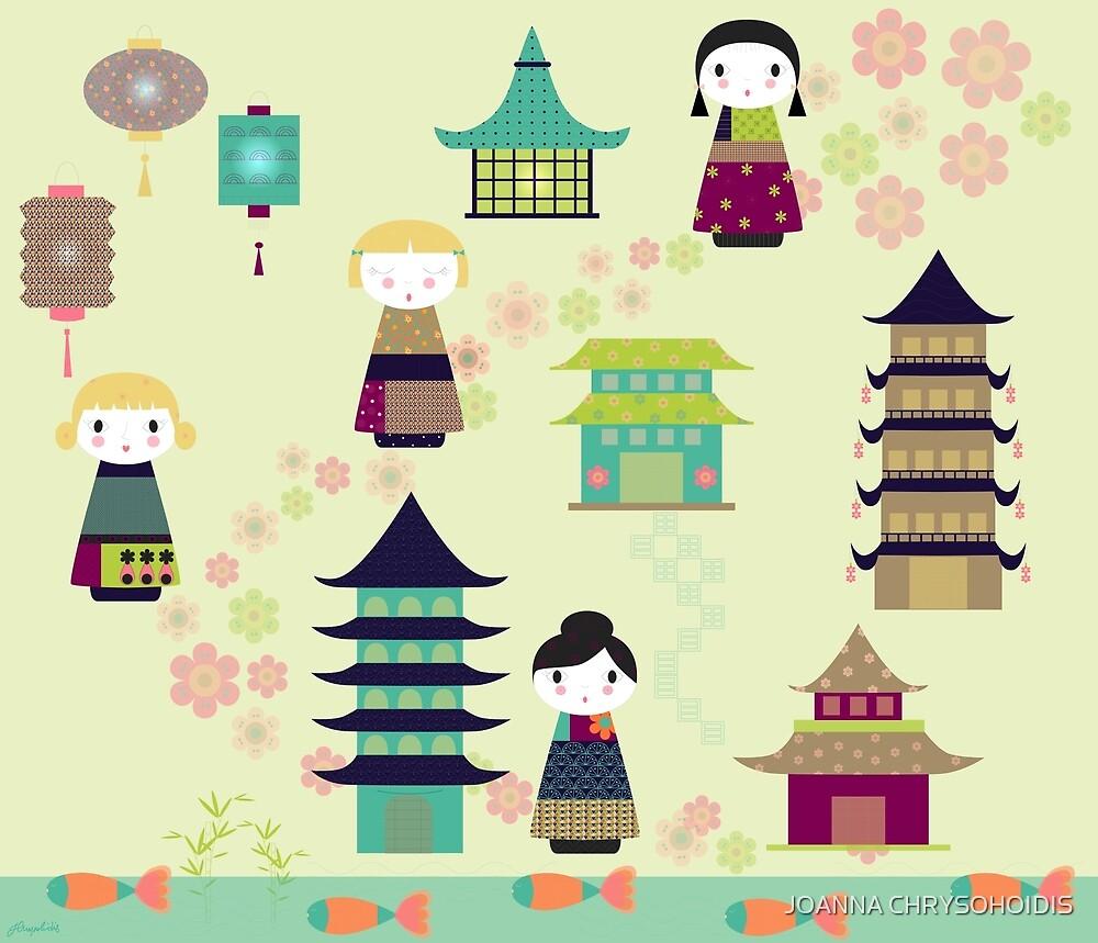 China Dolls by JOANNA CHRYSOHOIDIS