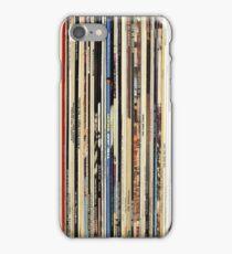 Vinyl Record Collector   iPhone Case/Skin