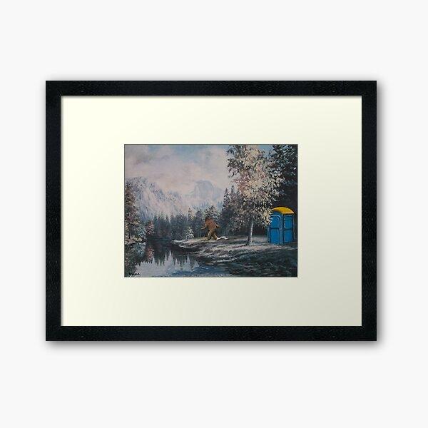 Nature Called Framed Art Print