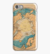 Map Of The Arctic 1860 iPhone Case/Skin