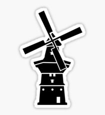 Dutch windmill Sticker