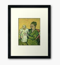 Vincent Van Gogh - Portrait Of Madame Augostine Roulin And Baby, 1888 Framed Print