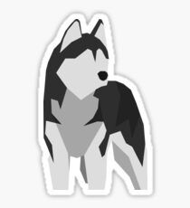 Siberian Husky Stickers Redbubble