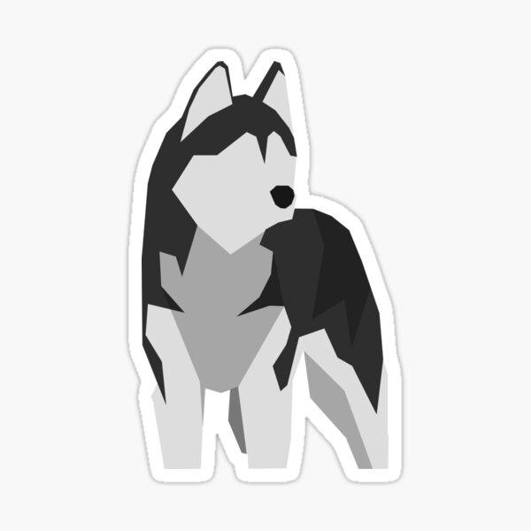 Husky Sticker