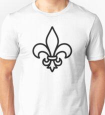 Fleur de Lys Lilie Unisex T-Shirt