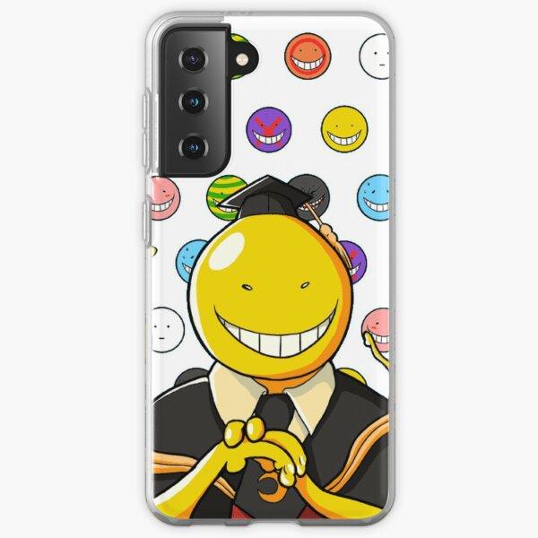 Koro Sensei tous les visages ! Assassination Classroom  Coque souple Samsung Galaxy