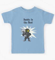 BioShock - Papa ist das beste Poster (schwarz) Kinder T-Shirt