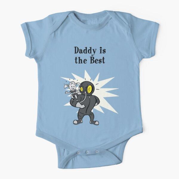 BioShock – Daddy is the Best (Black) Short Sleeve Baby One-Piece