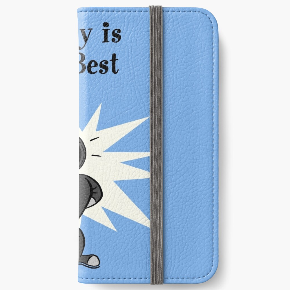 BioShock – Daddy is the Best Poster (Black) iPhone Wallet