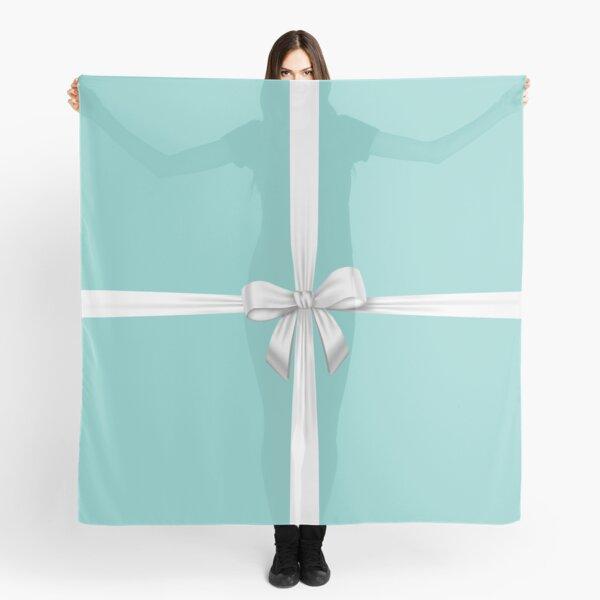 Blue Ribbon Gift Scarf