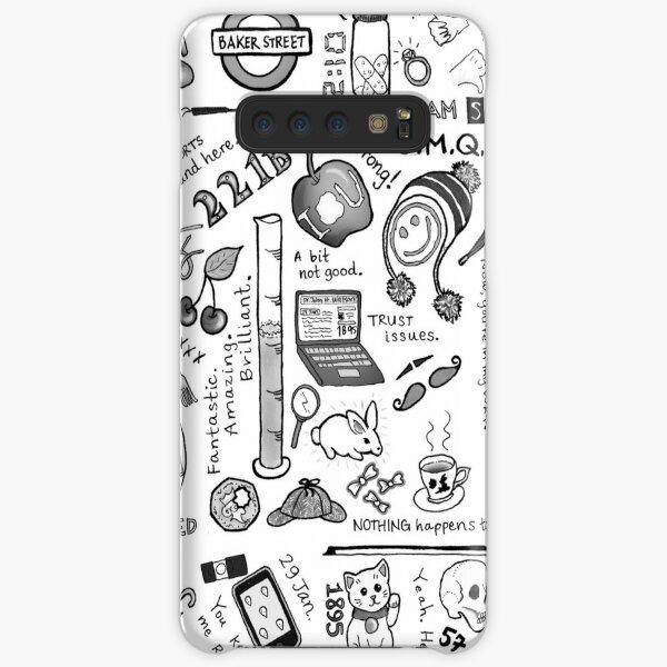 Sherlock Collage (grayscale) Samsung Galaxy Snap Case
