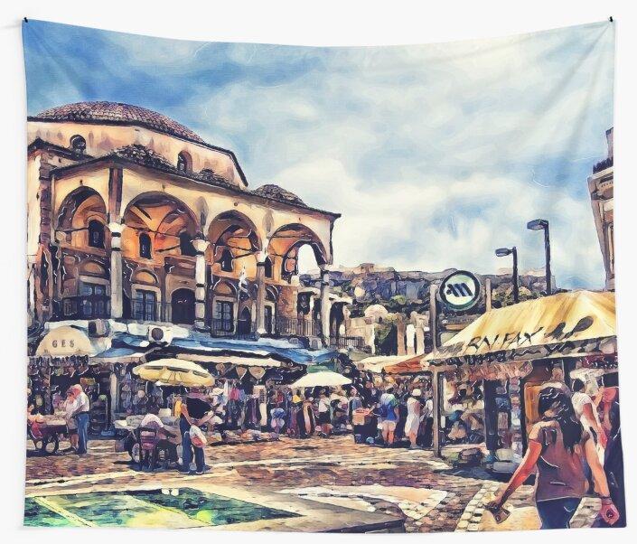 Athens place by JBJart
