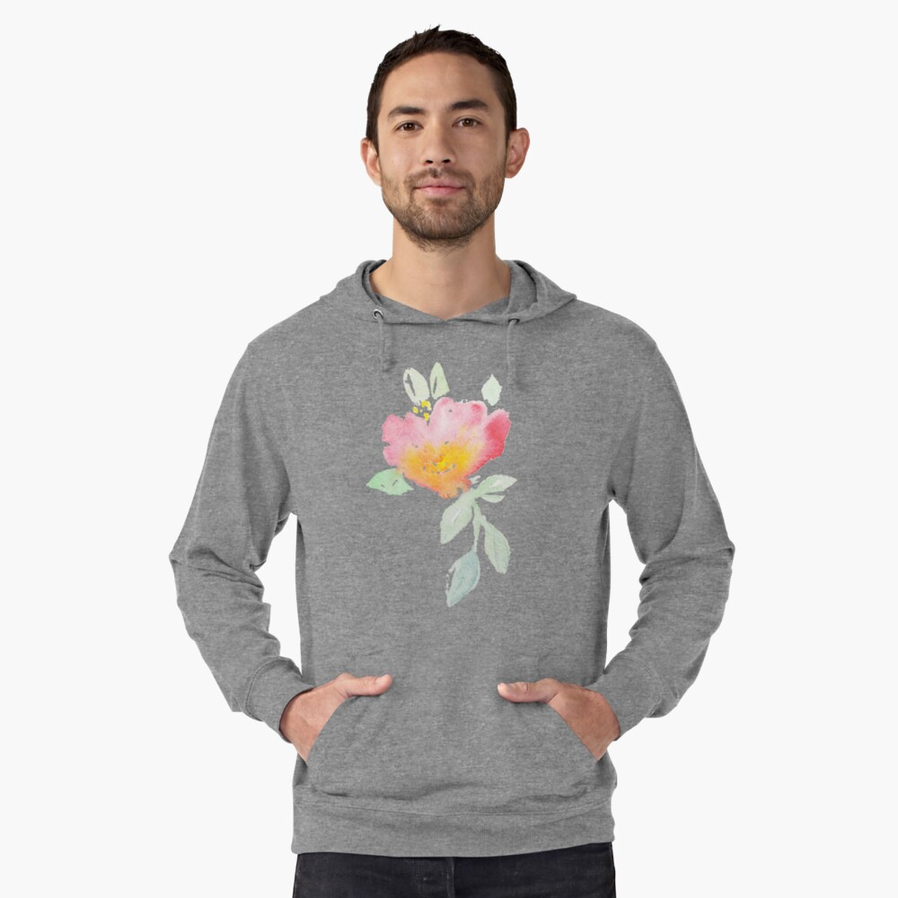 Spring and simple Lightweight Hoodie Front