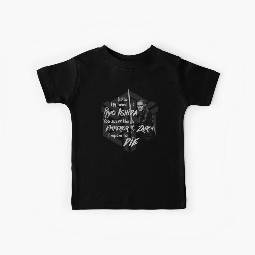Bereite dich auf den Tod vor - Ryo Edition Kinder T-Shirt