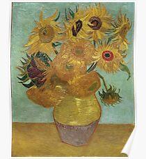 Vincent Van Gogh - Sunflowers, 1889 Poster