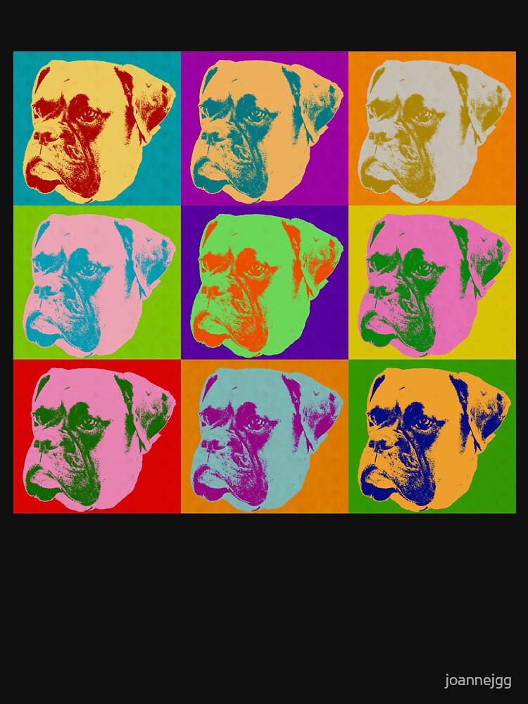 Boxer Dog Pop Art by joannejgg