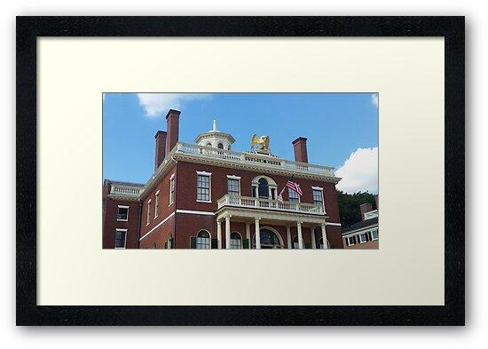 Salem Custom House by KOKeefeArt