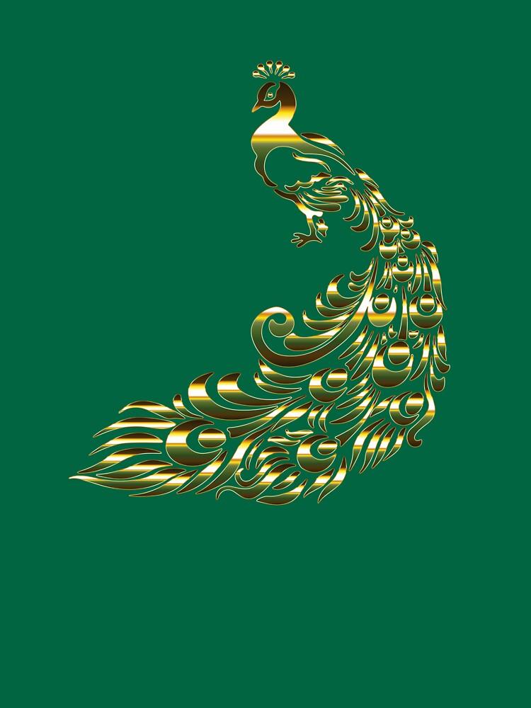 Chromatic Peacock by rizkymaulida