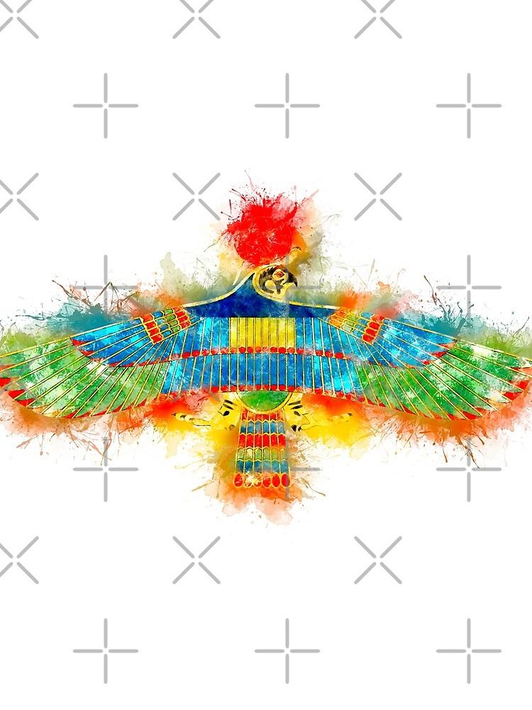 HAWK Emblem of RA Egyptian God by Naumovski