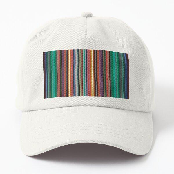 Multiple Color stripes  Dad Hat