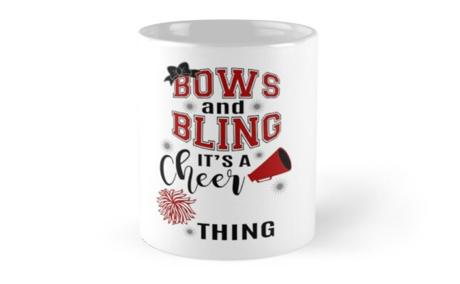 Bows & Bling It's A Cheer Thing by adametzb