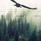 """Her Raven Boys"" POSTER by retribution1832"