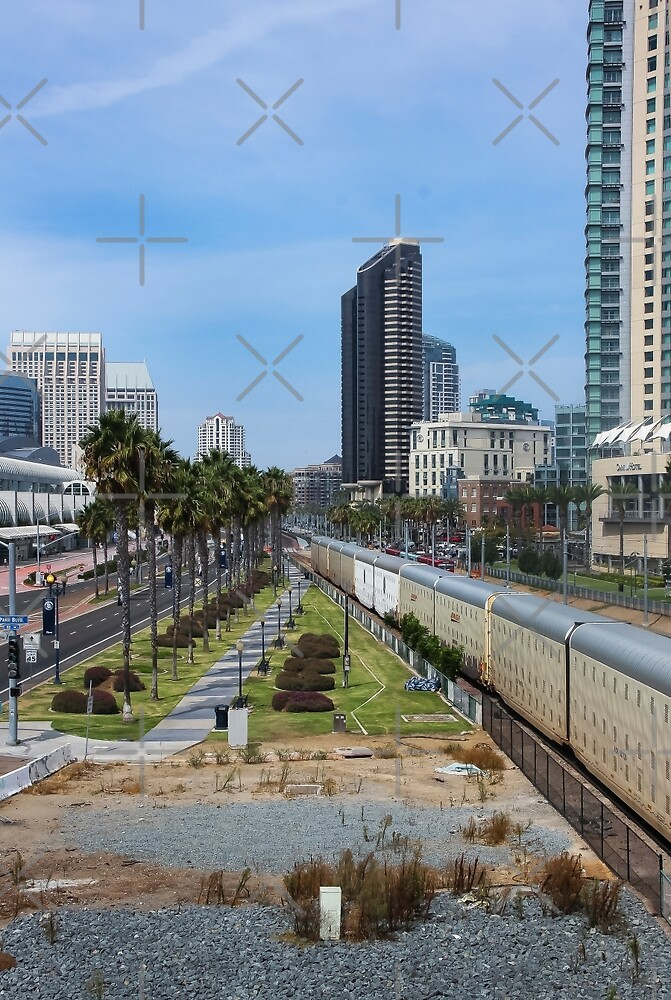 San Diego, View From a Bridge  by Heather Friedman