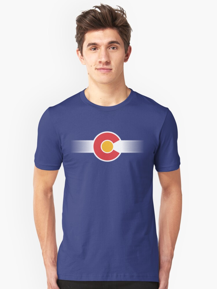 Colorado Unisex T-Shirt Front