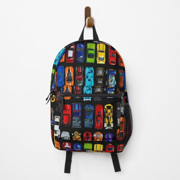 Cars, cars and cars - vertical Backpack