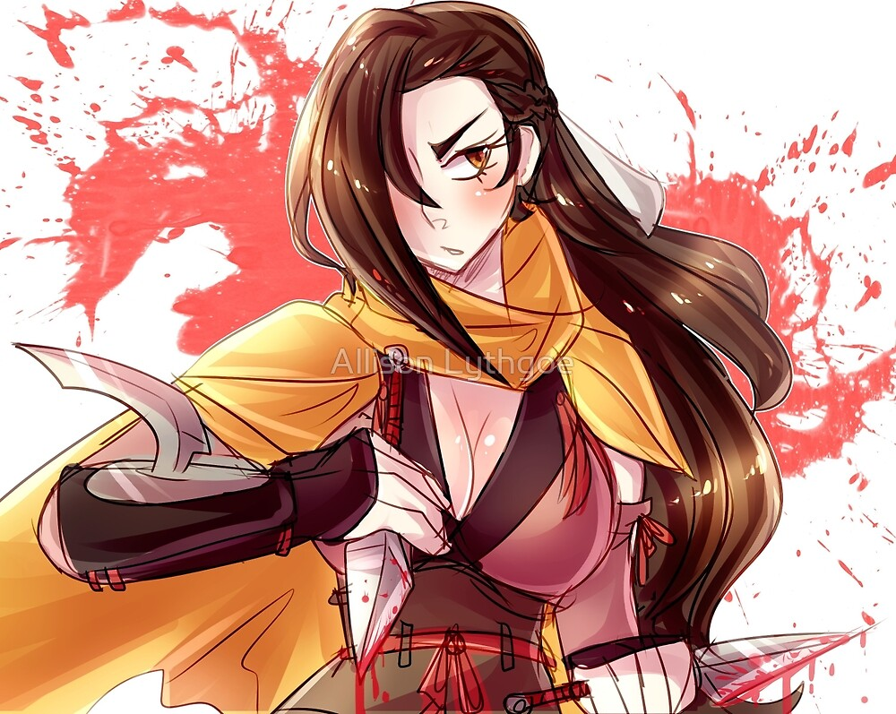Loyal Ninja Kagerou by Allison Lythgoe