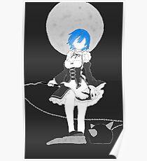 "Re:Zero Rem ""Moonlight"" Poster"