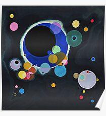 Wassily Kandinsky - Several Circles 1926  Poster