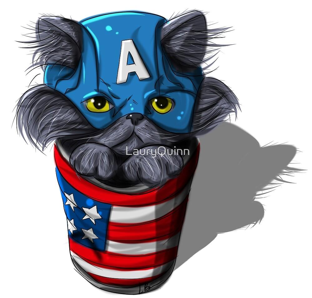 Cat-tin America by LauryQuinn