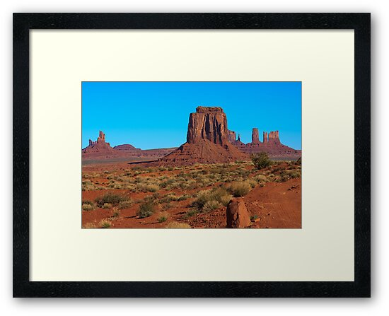 Amazing Daytime Image of Monument Valley by jose1983