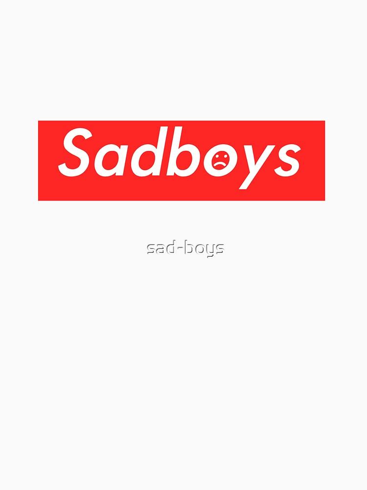 Sadboys Box Logo (L) - SADBOYS & YUNG LEAN | Unisex T-Shirt