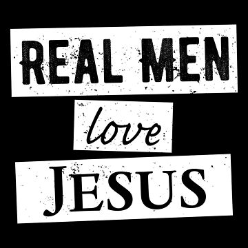 Real Men Love Jesus T-Shirt by christianshirts
