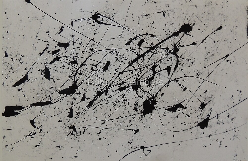 Untitled (Black Ink) by RobertChambers