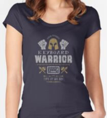 Keyboard Warrior Women's Fitted Scoop T-Shirt