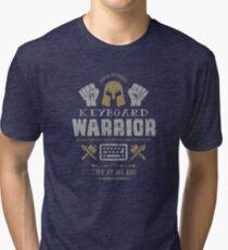 Keyboard Warrior Tri-blend T-Shirt