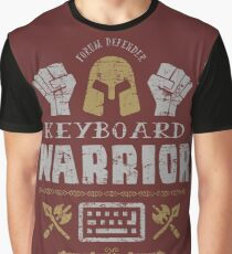 Keyboard Warrior Graphic T-Shirt