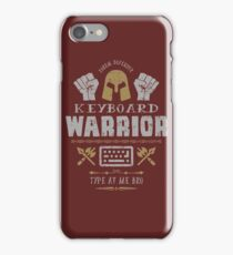 Keyboard Warrior iPhone Case/Skin