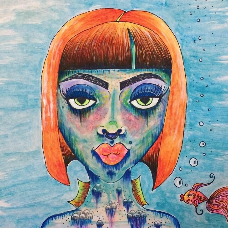 Mermaid by Decopunk
