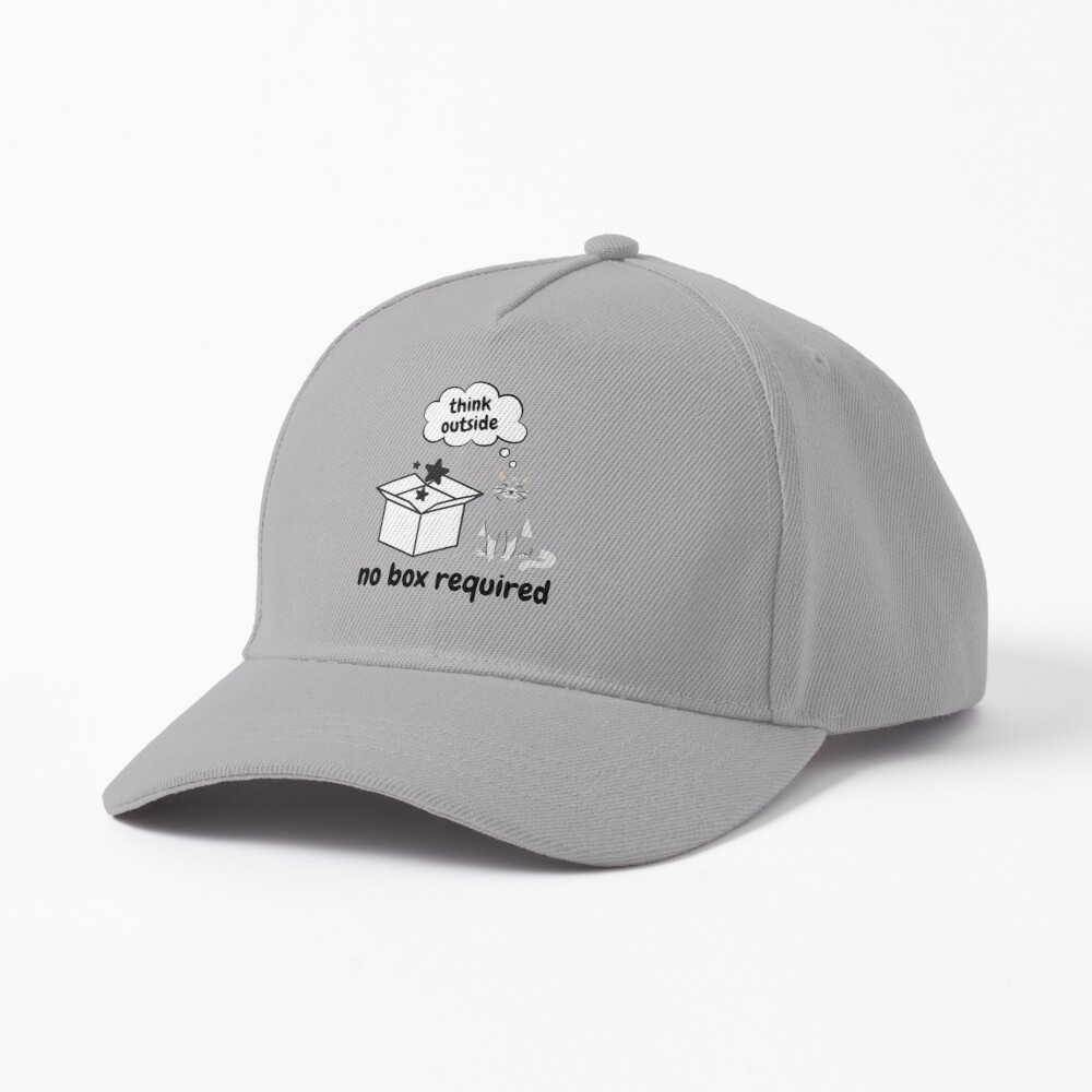 Think Outside No Box Required Cap