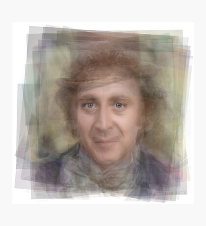 Gene Wilder Portrait Photographic Print