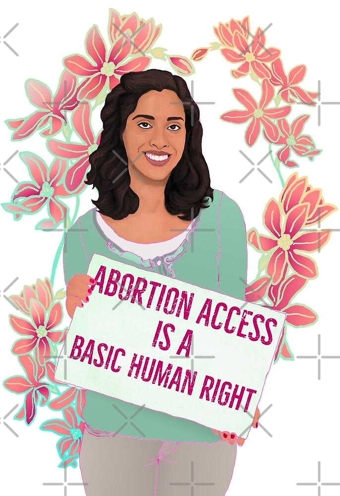 Abortion Access Is A Basic Human Right by fabfeminist